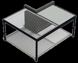 Pergola bioclimatica modulare 3 Adarte Outdoor Format