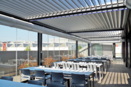 Realizzazione mensa aziendale Maranello Adarte Outdoor Format