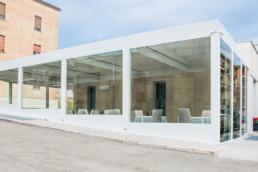 Realizzazione ristorante Lucera foggia Adarte Outdoor Format