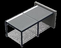 Pergola bioclimatica modulare 1 Adarte Outdoor Format