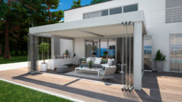 Estensione casa biotermica A301 Open Adarte Outdoor Format