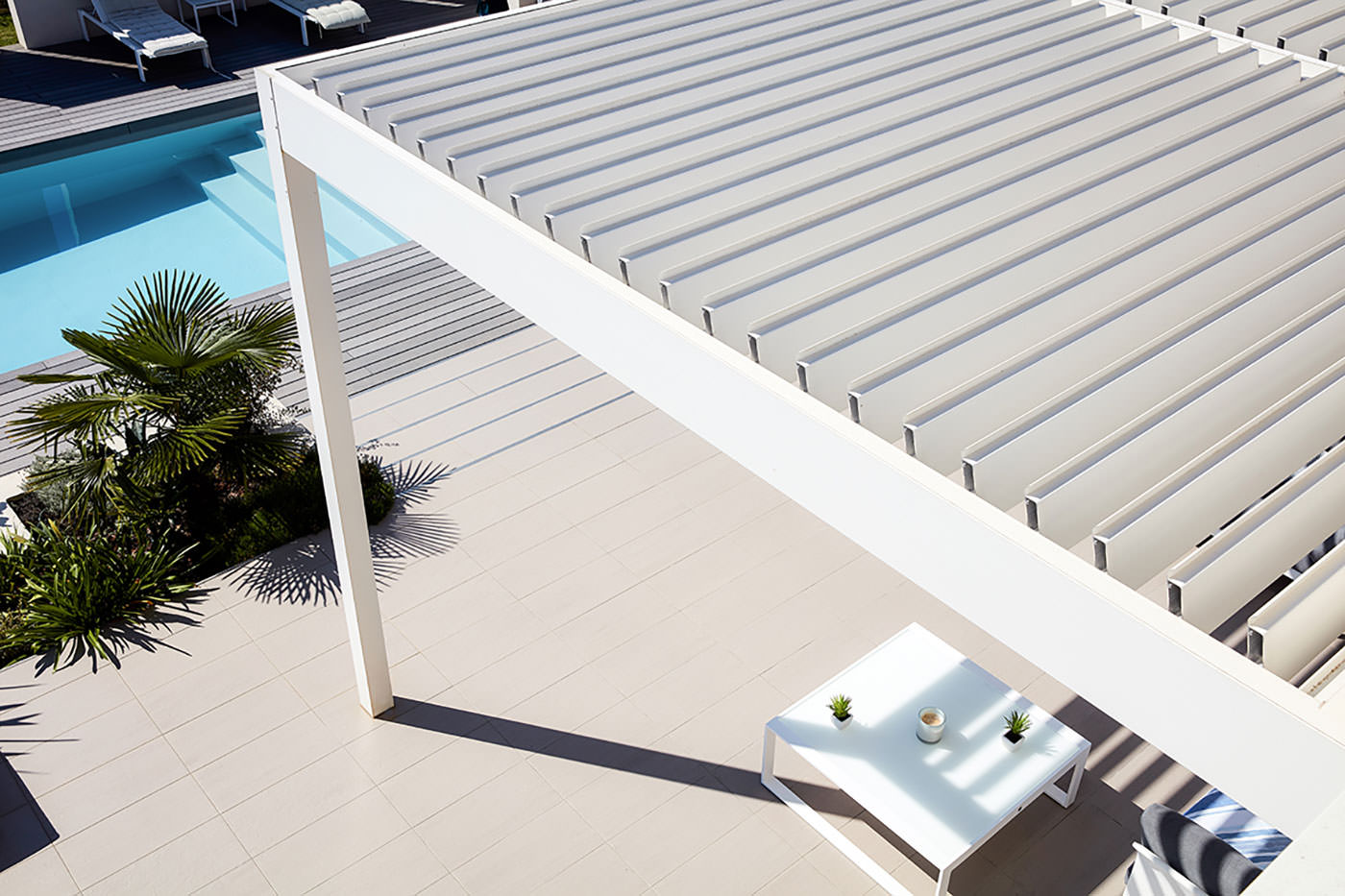 Pergola bioclimatica Adarte Outdoor Format