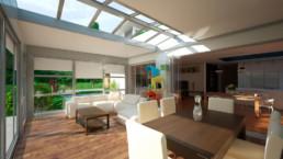 Estensione casa Biotermica A303 Fix Adarte Outdoor Format