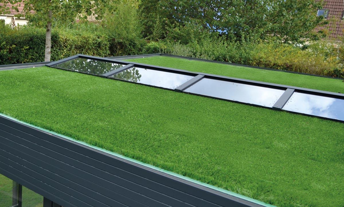 Rivestimento silent green Estensione casa pergola biotermica Adarte Outdoor Format