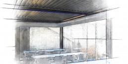 Case history mensa aziendale Maranello - Adarte outdoor format