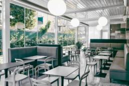 Ice-cream shop realization Roma Adarte Outdoor Format